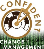 Confident Change Management Logo Square Matrix